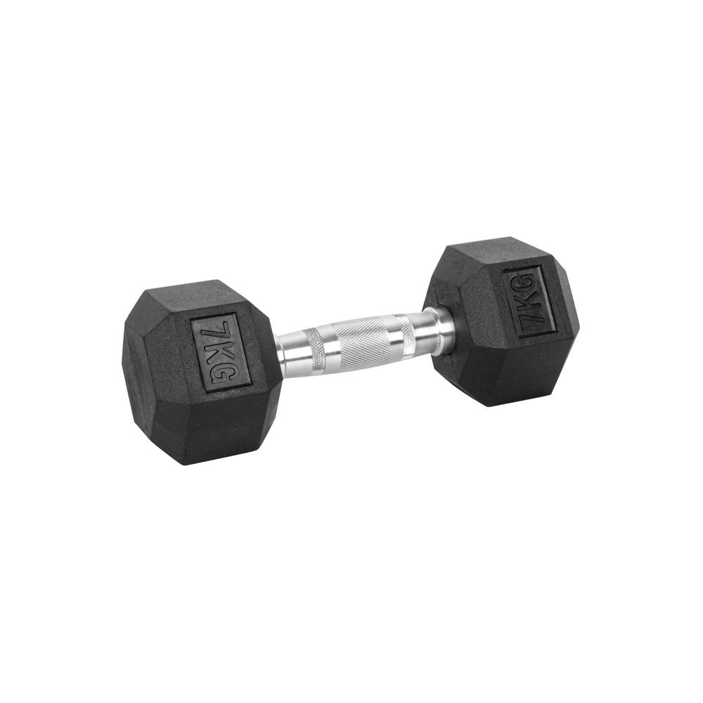 Šesťhranná činka inSPORTline Hexsteel 7 kg