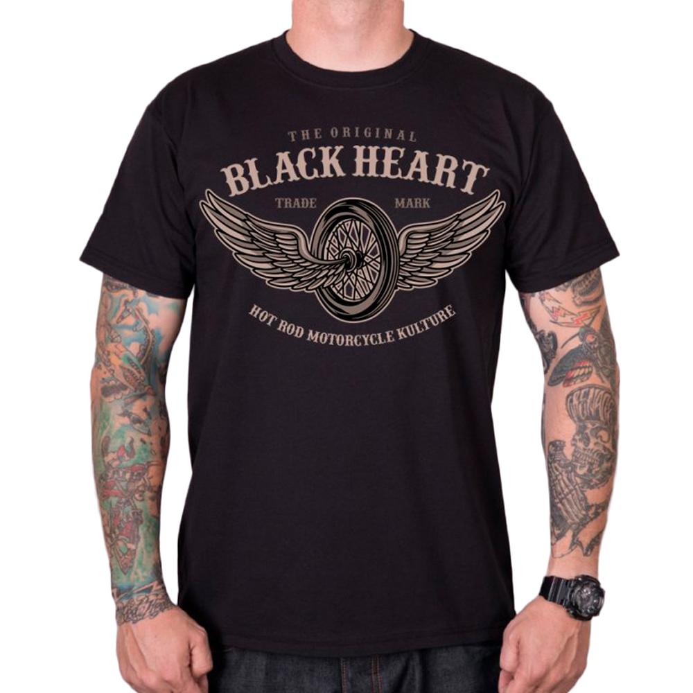 Tričko BLACK HEART Wings