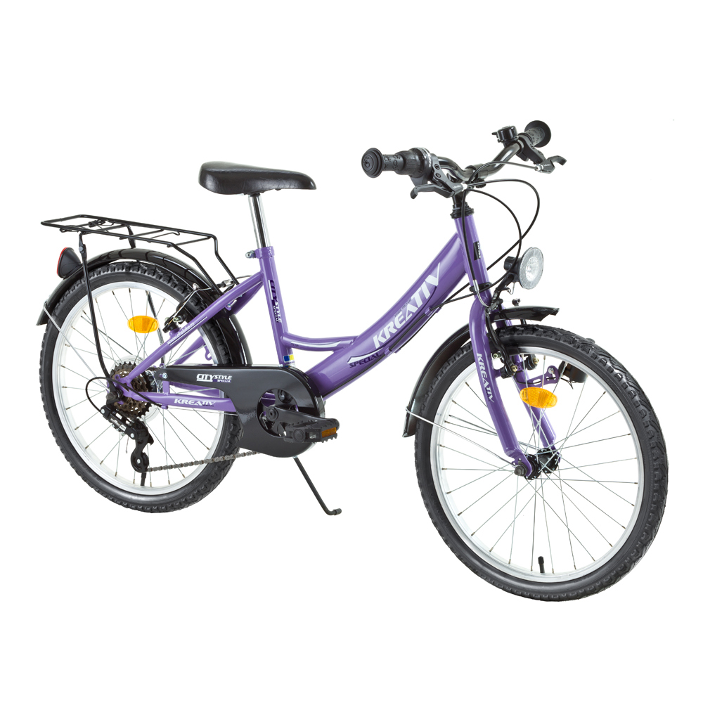 "Juniorský bicykel DHS Kreativ Citystyle 2414 24"" - model 2015"