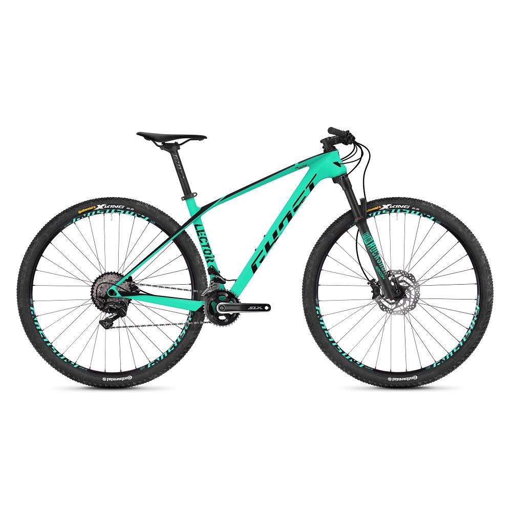 "Horský bicykel Ghost Lector 2.9 LC U 29"" - model 2019 Jade Blue / Jet Black - M (18"") - Záruka 10 rokov"