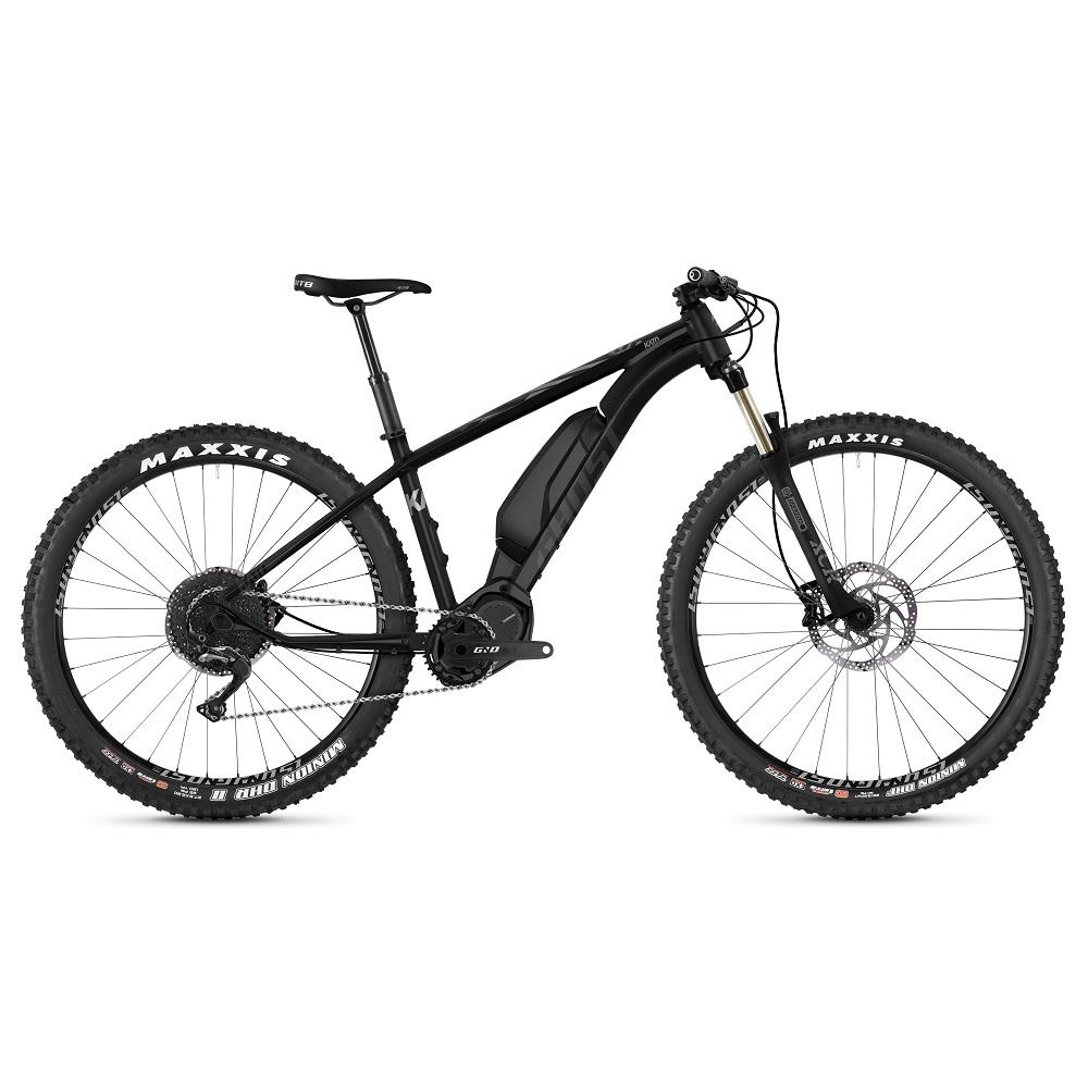 "Horský elektrobicykel Ghost Kato X S5.7+ 29"" - model 2020 Night Black / Jet Black / Iridium Silver - XL (19,5"")"