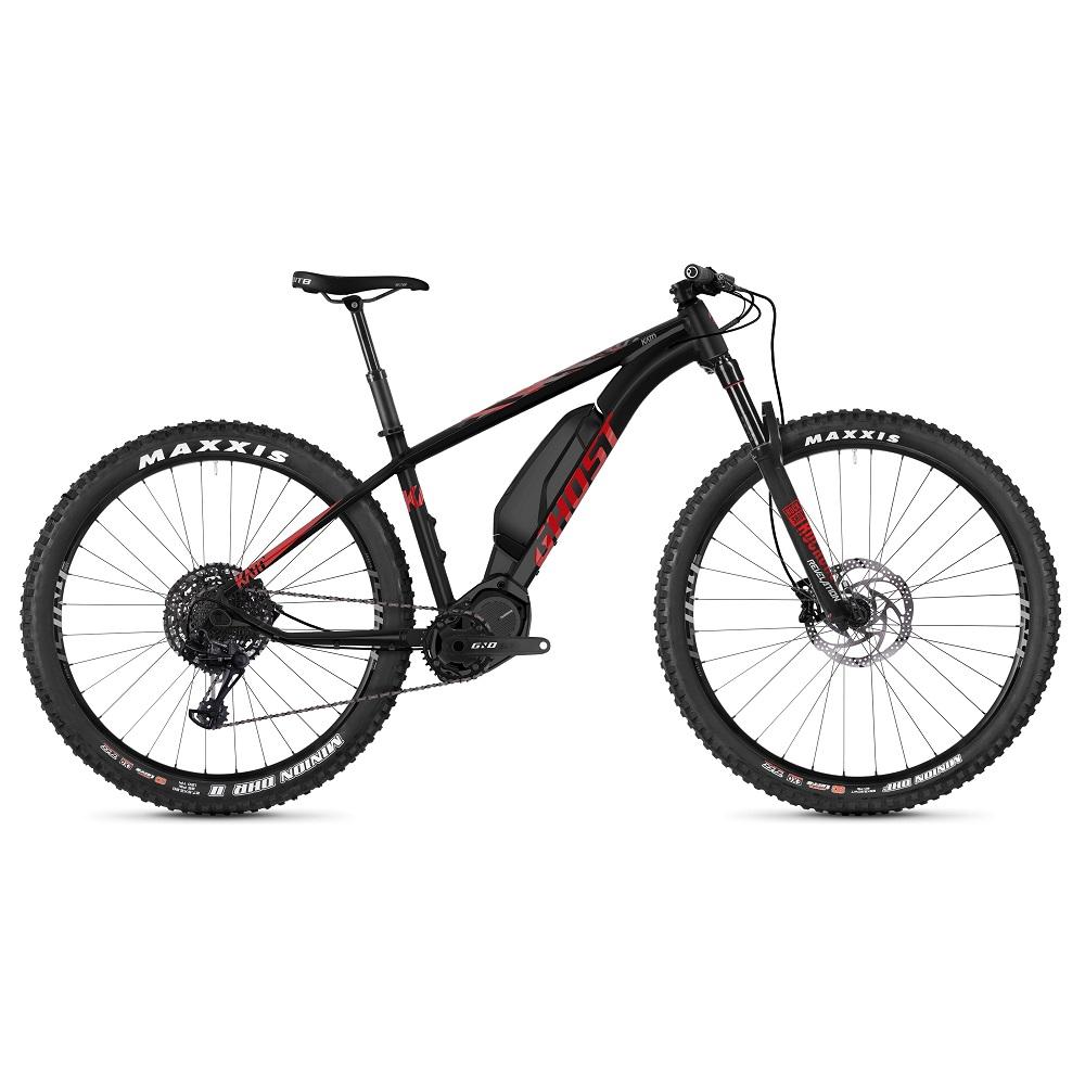 "Horský elektrobicykel Ghost Kato X S8.7+ 29"" - model 2019 Night Black / Riot Red / Iridium Silver - M (16,5"") - Záruka 10 rokov"