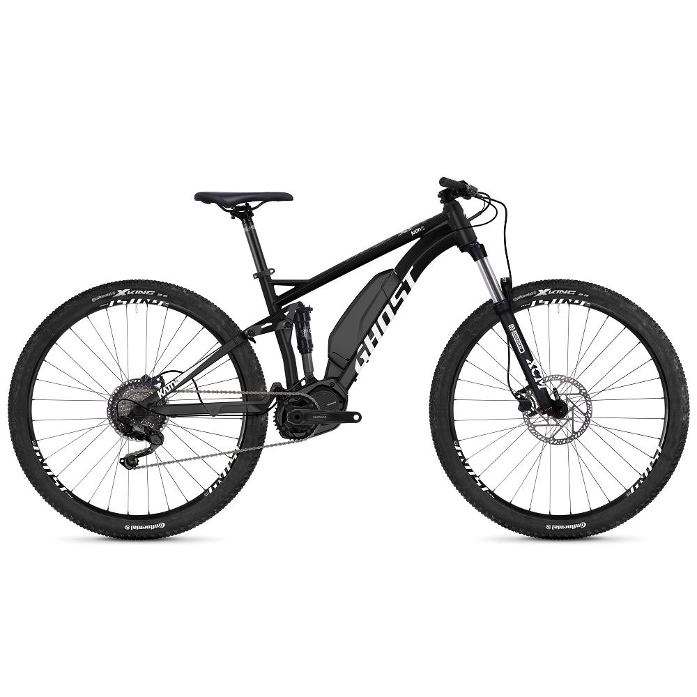 "Celoodpružený elektrobicykel Ghost Kato FS S3.9 29"" - model 2019 Night Black / Star White - S (15"") - Záruka 10 rokov"