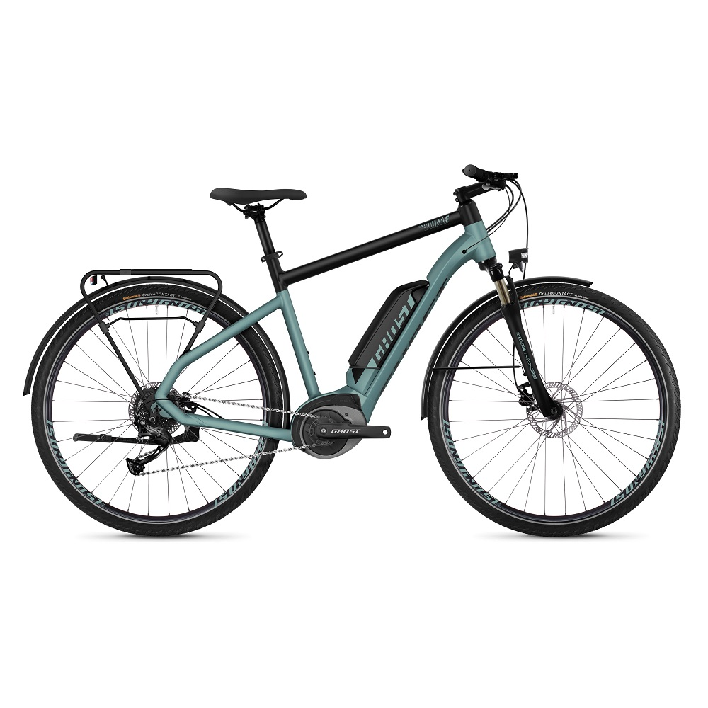 "Trekingový elektrobicykel Ghost Square Trekking B1.8 28"" - model 2019 River Blue / Jet Black - L (22,5"") - Záruka 10 rokov"