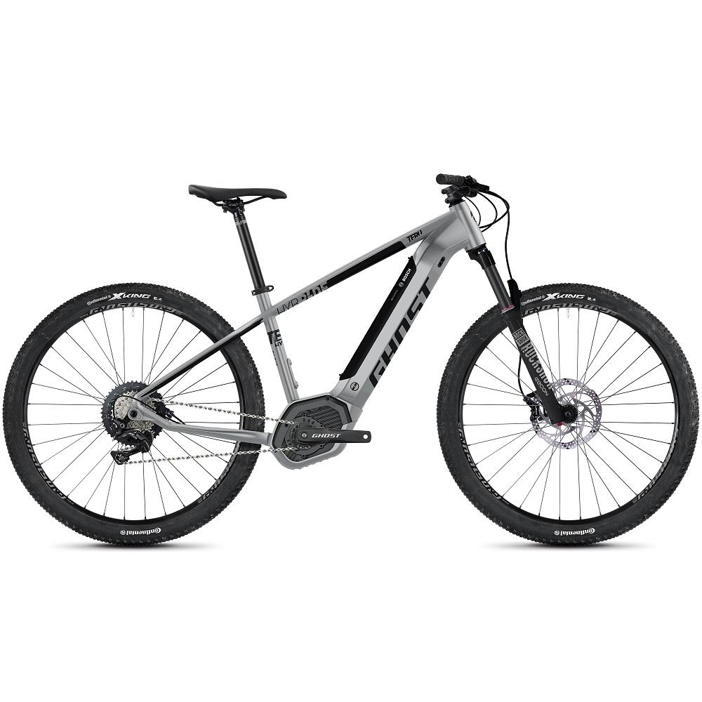 "Horský elektrobicykel Ghost Teru PT B5.9 29"" - model 2020 Urban Grey / Jet Black - M (16,5"") - Záruka 10 rokov"