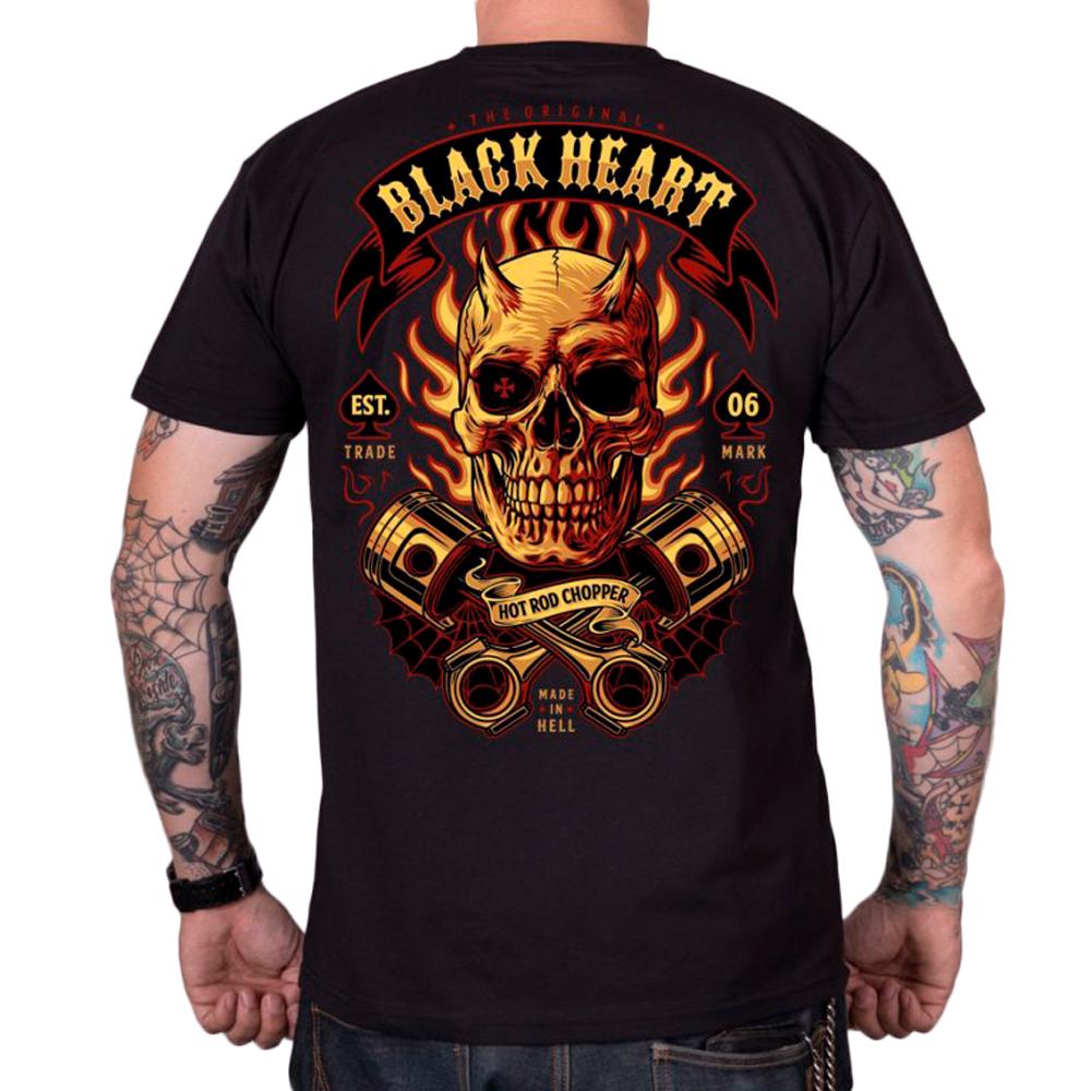 Tričko BLACK HEART Hell Boy