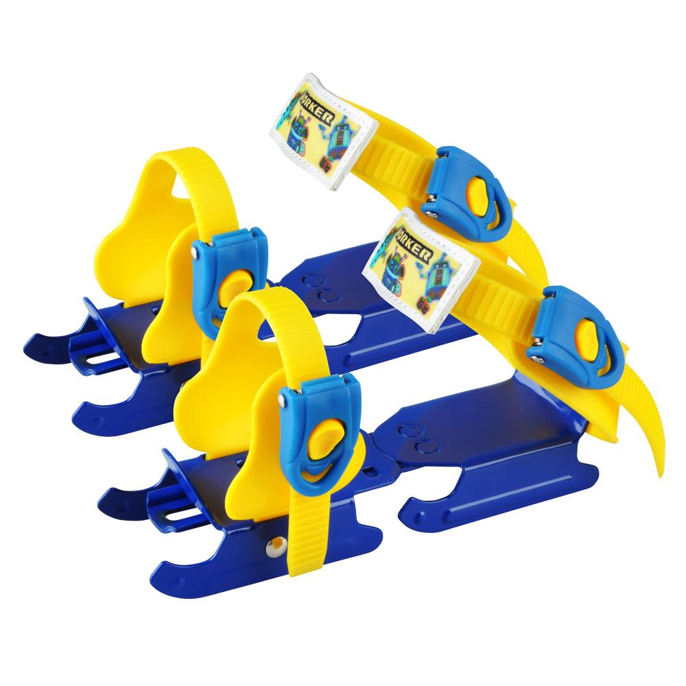 Detské korčule WORKER Duckss Blue