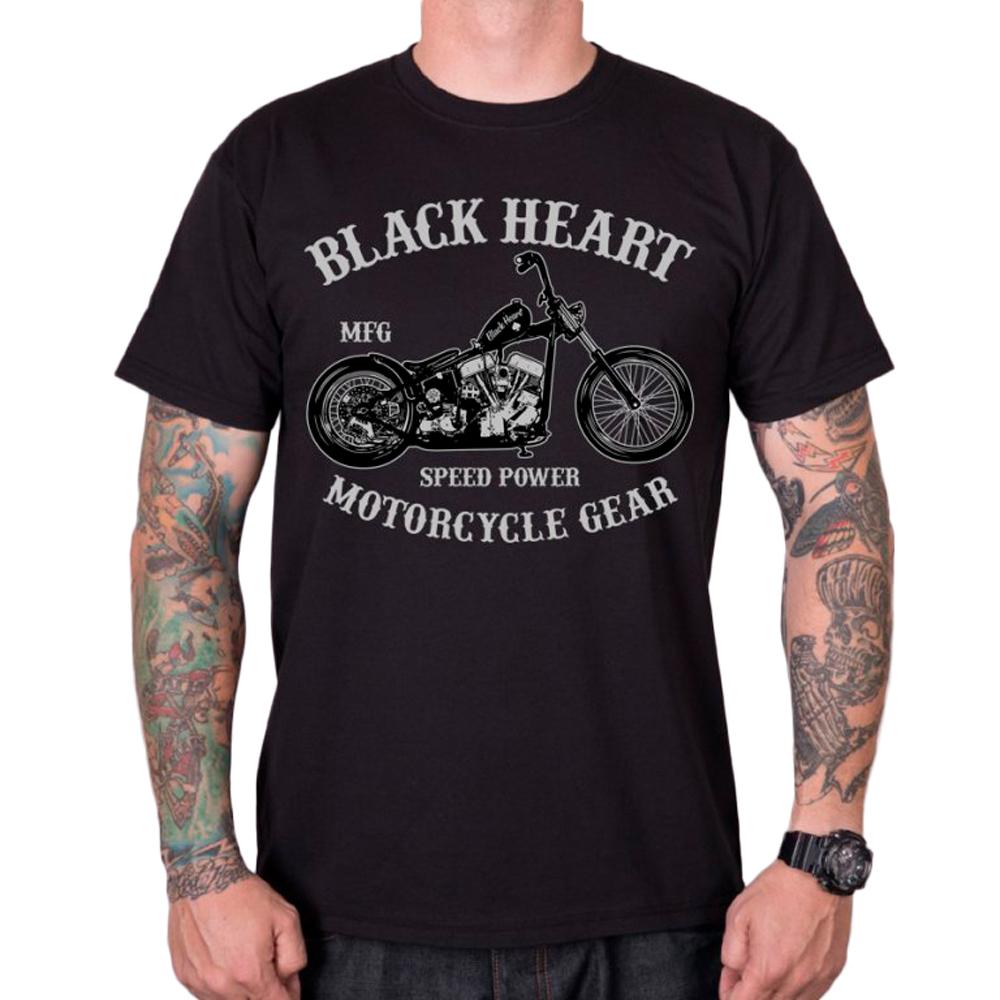 Tričko BLACK HEART Chopper