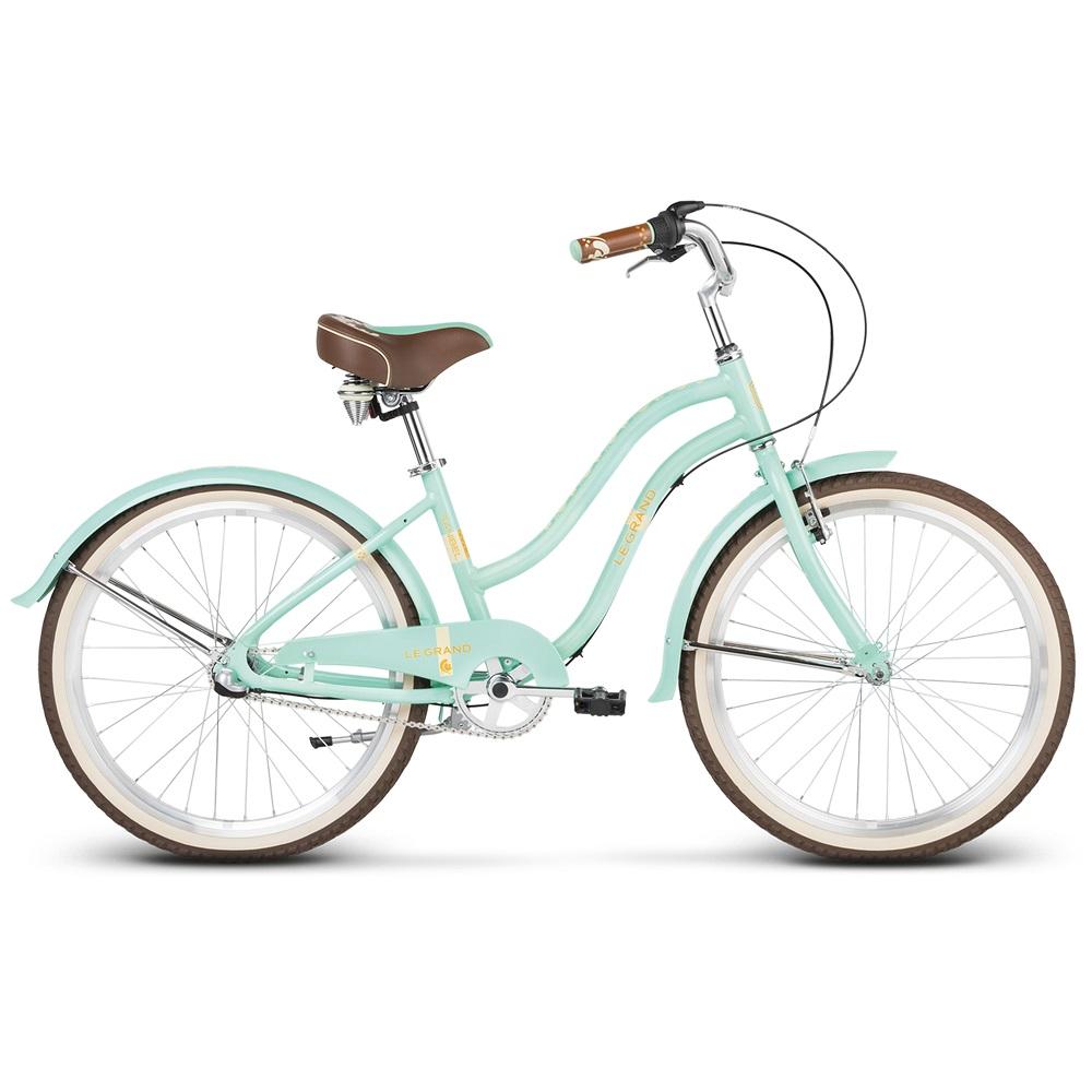 "Juniorský dievčenský bicykel Le Grand Sanibel JR 24"" - model 2020 Mint"