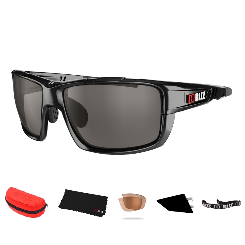 6c88d9ce4 Športové slnečné okuliare Bliz Tracker Ozon čierne