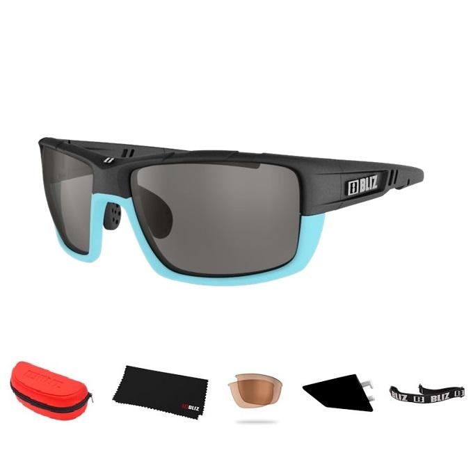 Športové slnečné okuliare Bliz Tracker Ozon modré