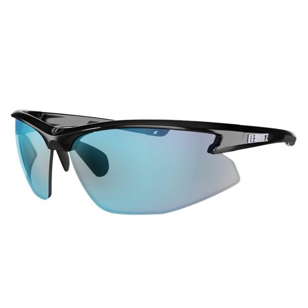 Športové slnečné okuliare Bliz Motion Multi čierna s modrými sklami