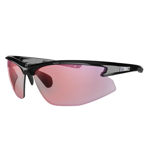 Športové slnečné okuliare Bliz Motion Multi čierna s ružovými sklami