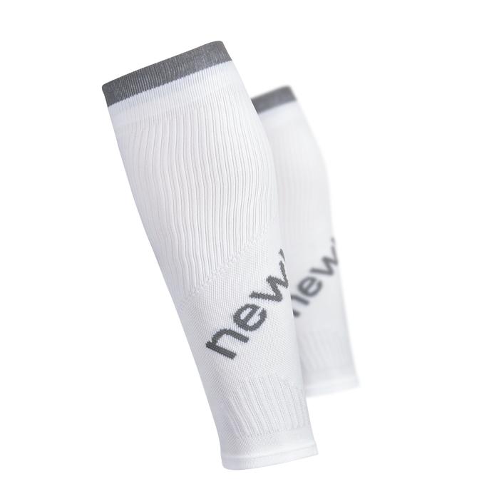 Kompresné návleky na nohy Newline Calfs Sleeve biela - S