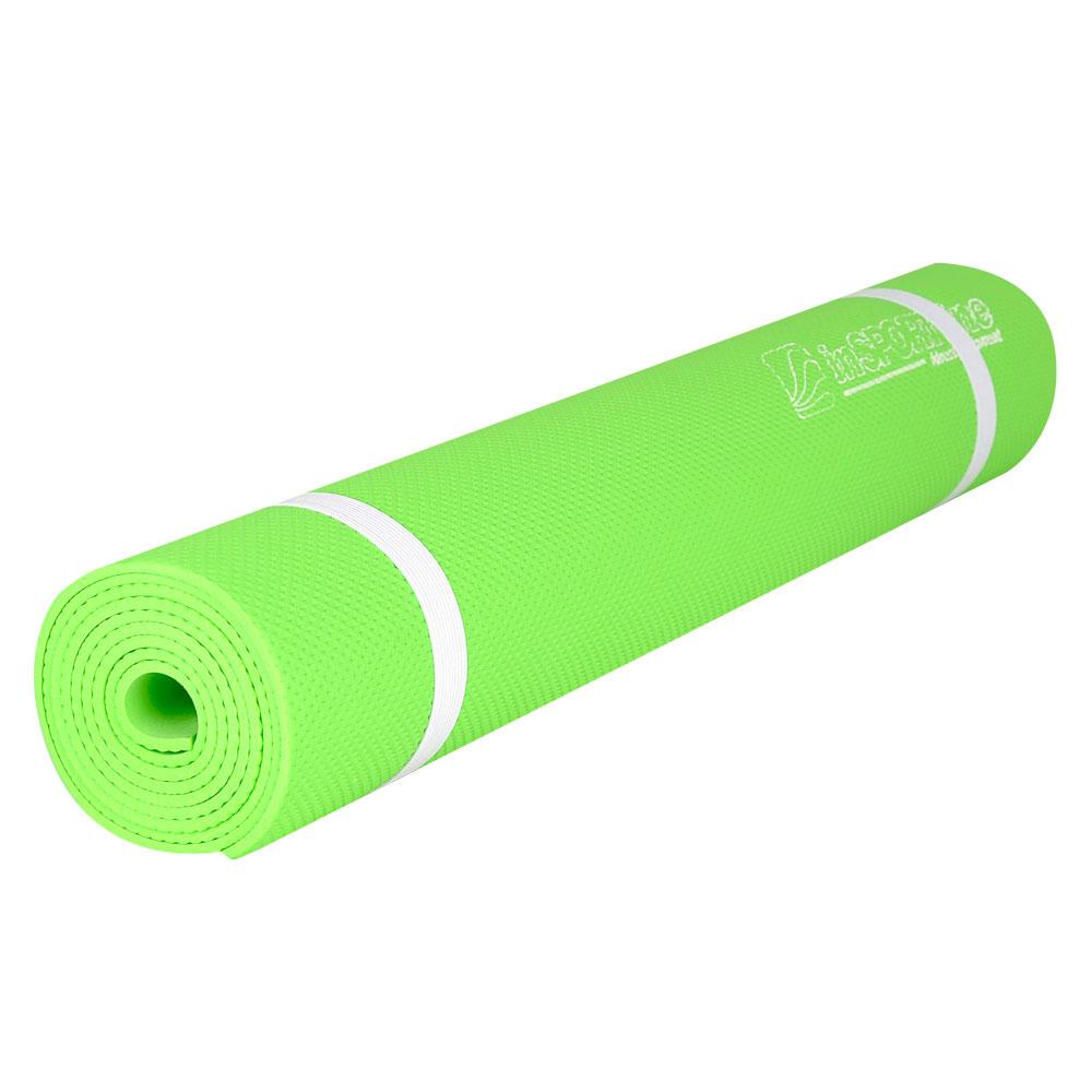 Podložka na cvičenie inSPORTline EVA reflexná zelená
