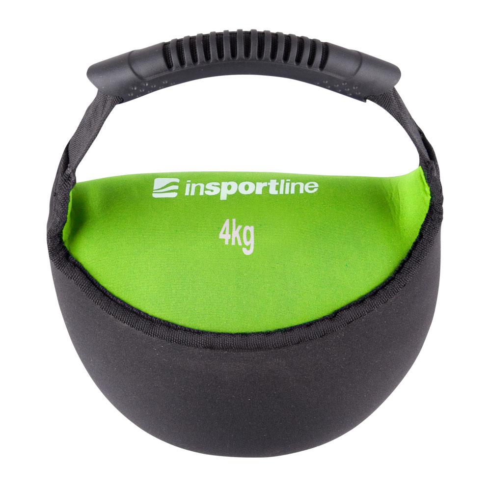 Neoprenová činka inSPORTline Bell-bag 4kg
