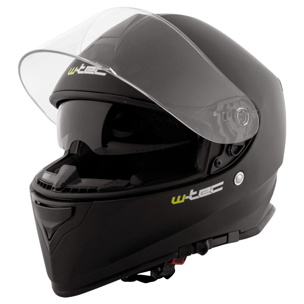 Moto prilba W-TEC V127 matne čierna - XL (61)