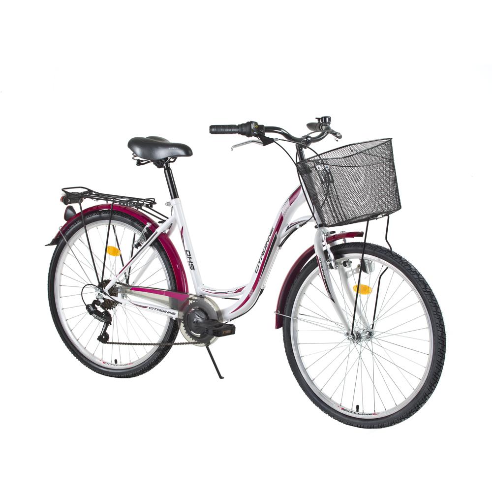 """Mestský bicykel DHS Citadinne 2834 28"""" - model 2015"""