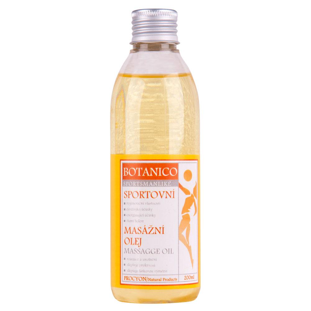 Športový masážny olej Botanico 200ml