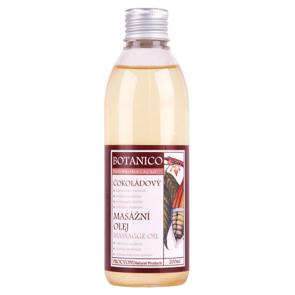 Masážny olej Botanico 200 ml - s extraktom kakaa