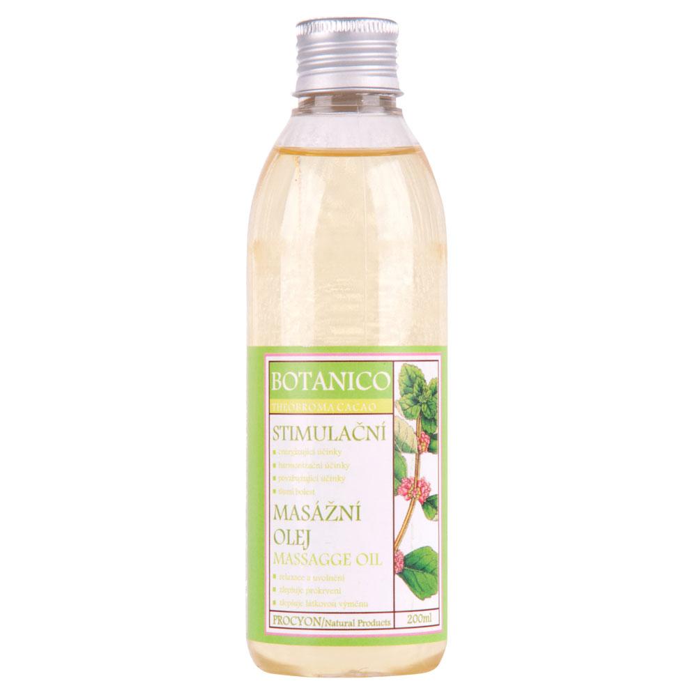 Stimulačný masážny olej Botanico 200ml
