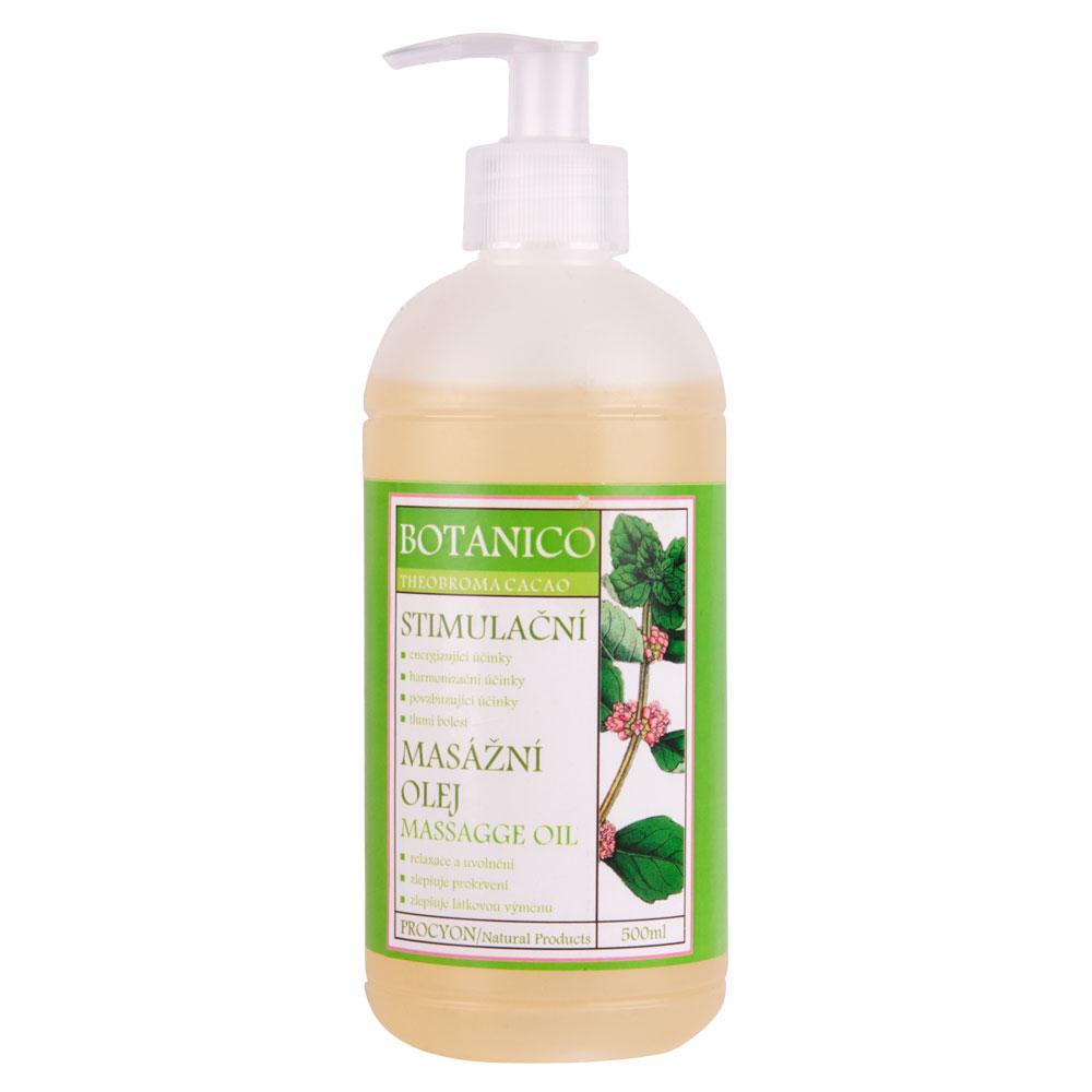 Stimulačný masážny olej Botanico 500ml