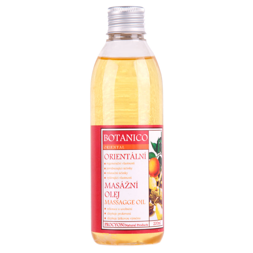 Orientálny masážny olej Botanico 200ml