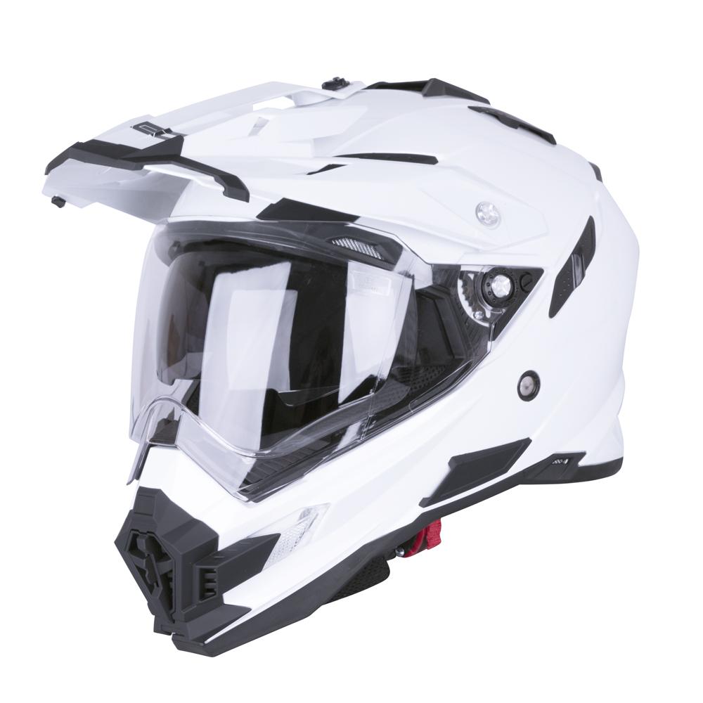 Motokrosová prilba W-TEC AP-885 Pearl White - L (59-60 cfd264ebbac