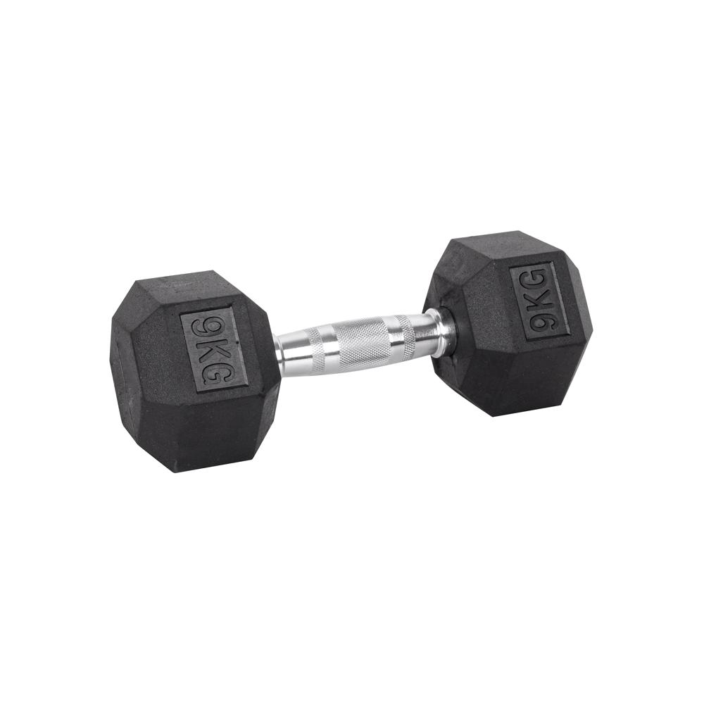 Šesťhranná činka inSPORTline Hexsteel 9 kg