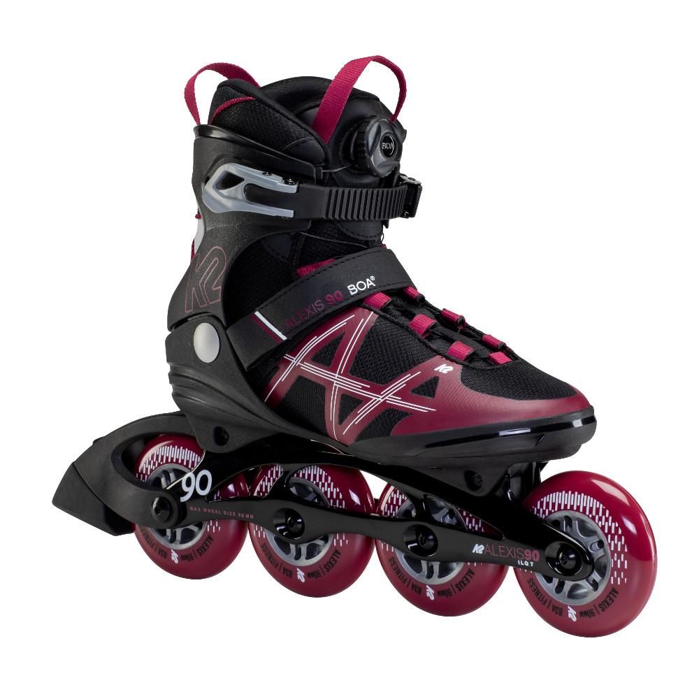 Dámske kolieskové korčule K2 Alexis 90 BOA 2021