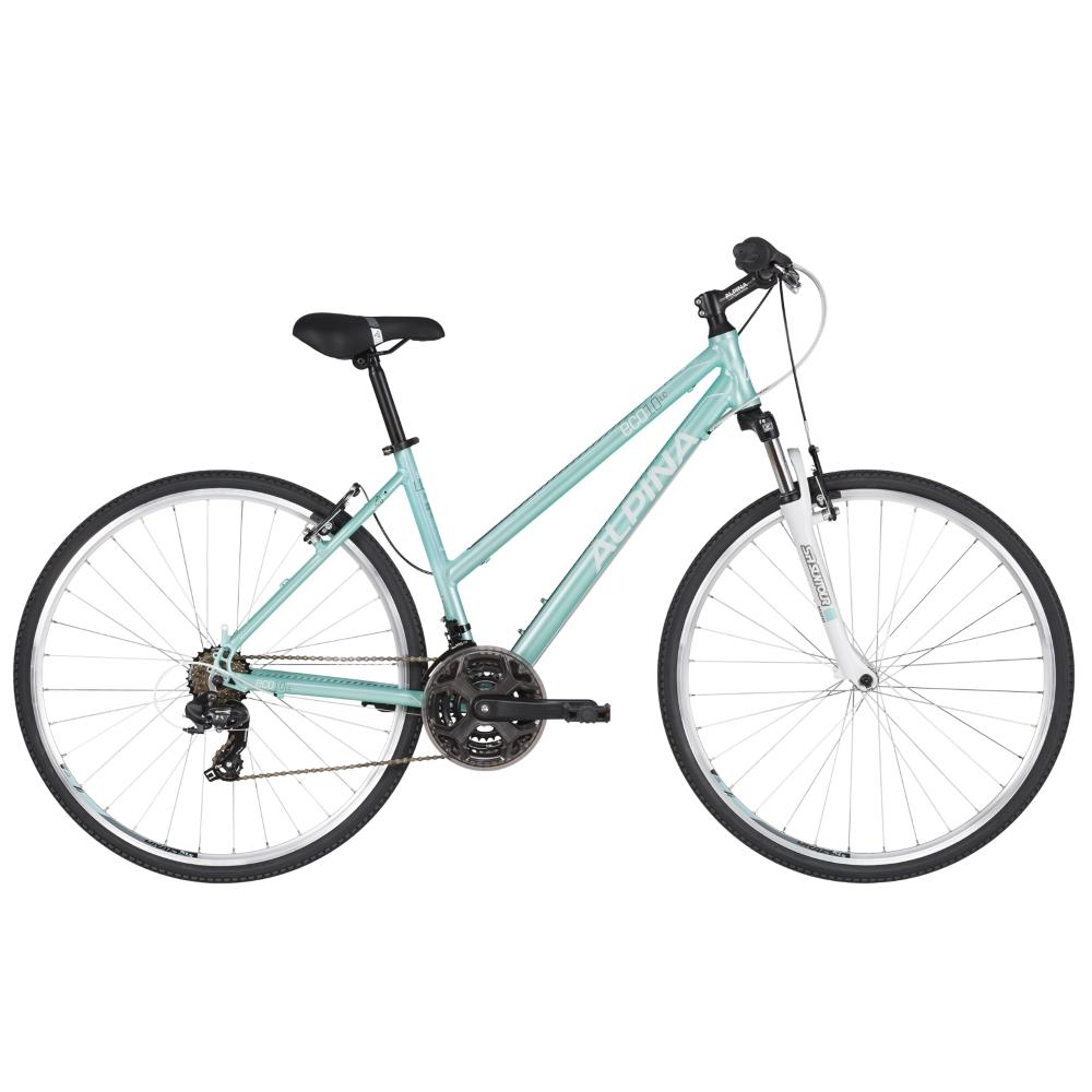 """Dámsky crossový bicykel ALPINA ECO LC10 - model 2020 Aqua - S (16.5"""") - Záruka 10 rokov"""
