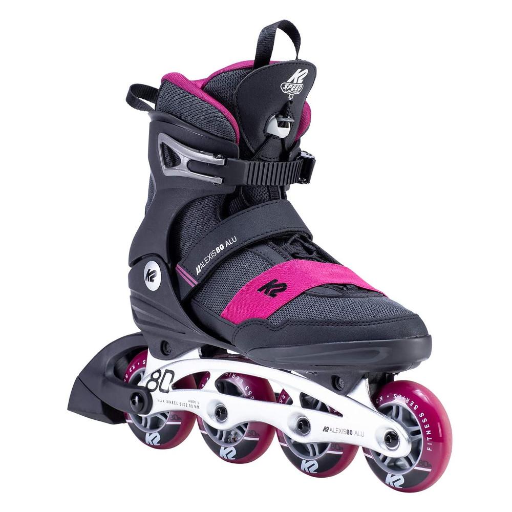 Dámske kolieskové korčule K2 Alexis 80 Alu 35