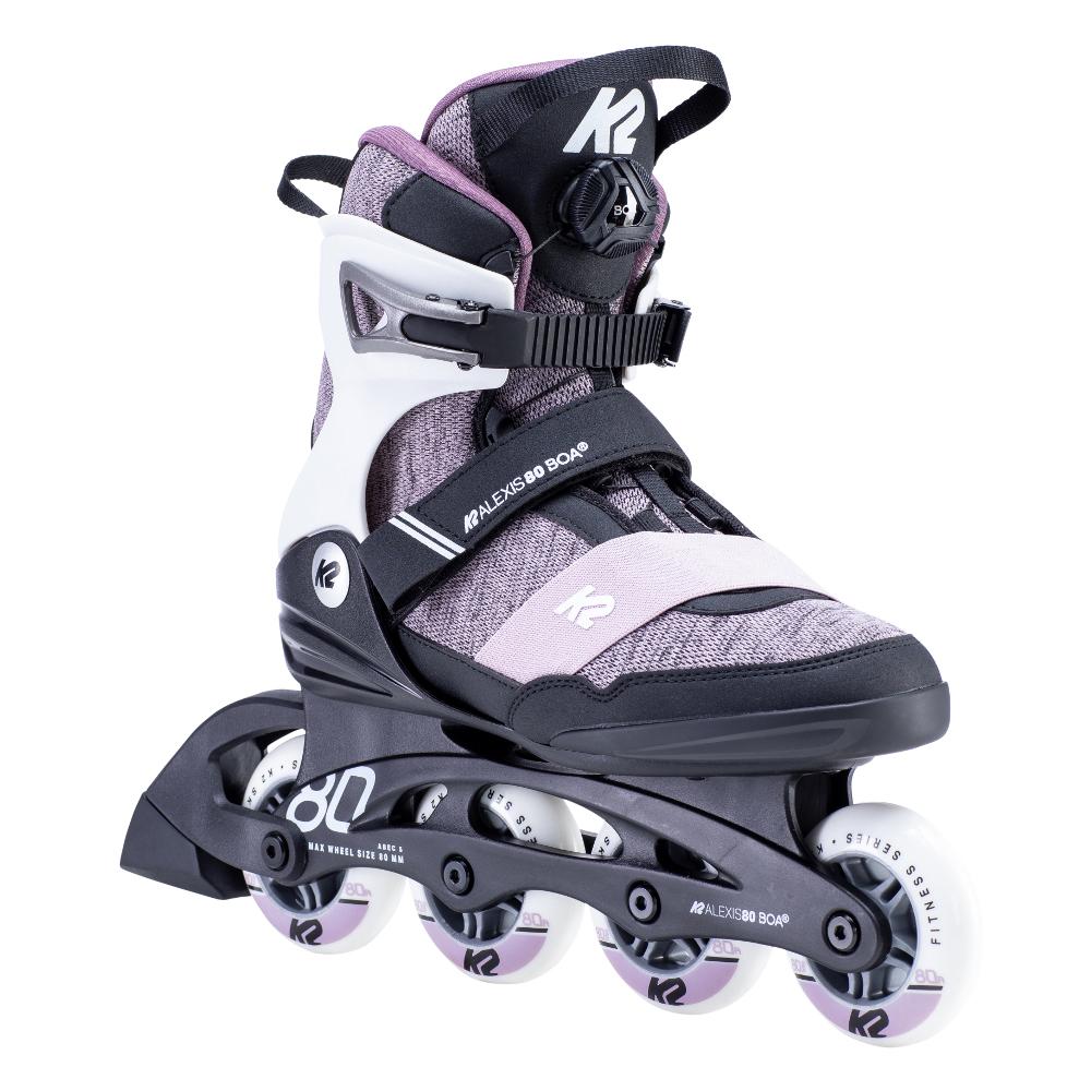 Dámske kolieskové korčule K2 Alexis 80 BOA 2020 39