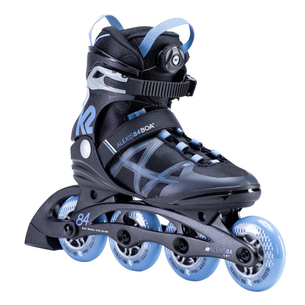 Dámske kolieskové korčule K2 Alexis 84 BOA 2020