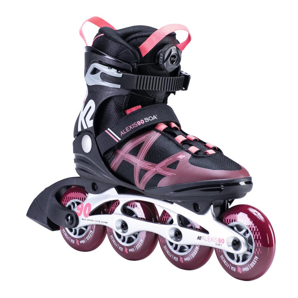 Dámske kolieskové korčule K2 Alexis 90 BOA 37