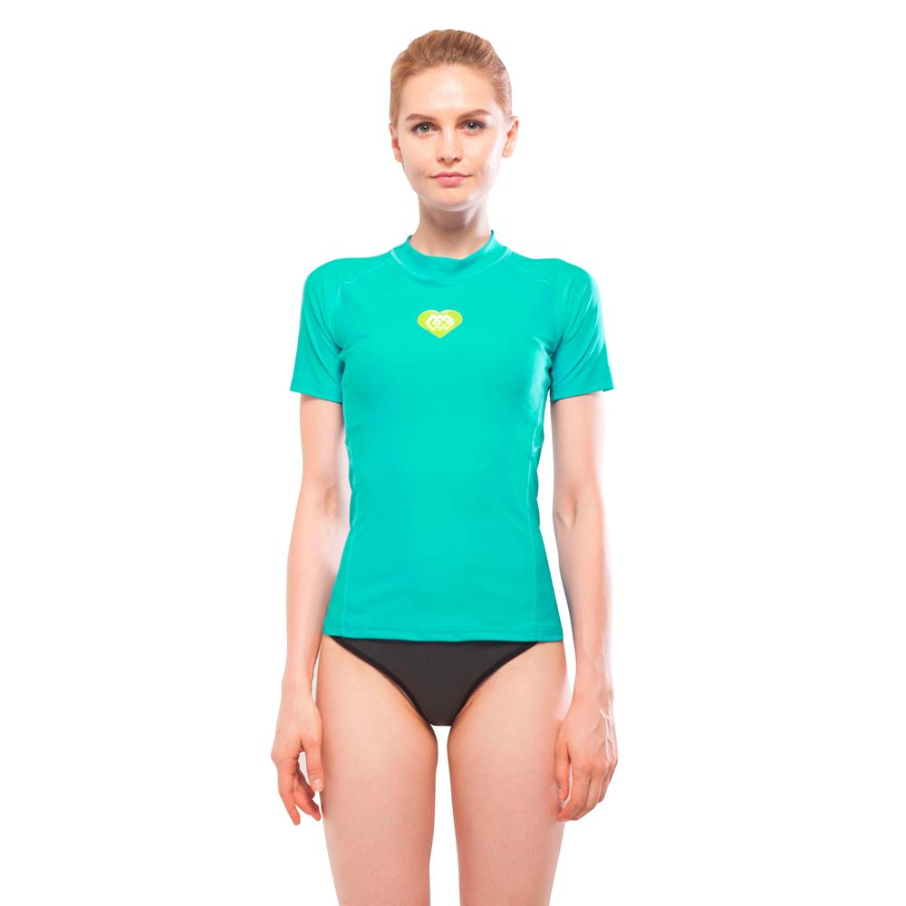17804230f20 Dámske tričko pre vodné športy Aqua Marina Alluv - modrá - inSPORTline
