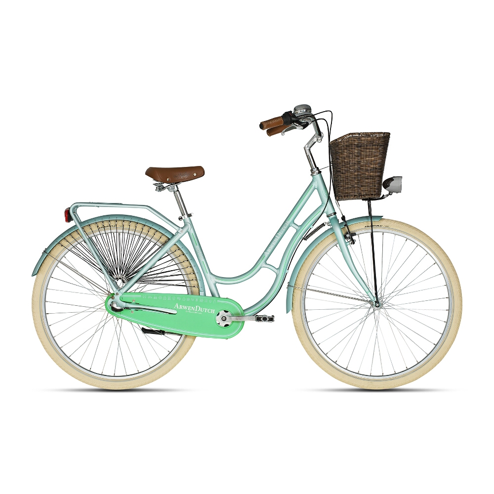 "Mestský bicykel KELLYS ARWEN DUTCH 28"" - model 2018 Menthol - 460 mm (18"") - Záruka 10 rokov"