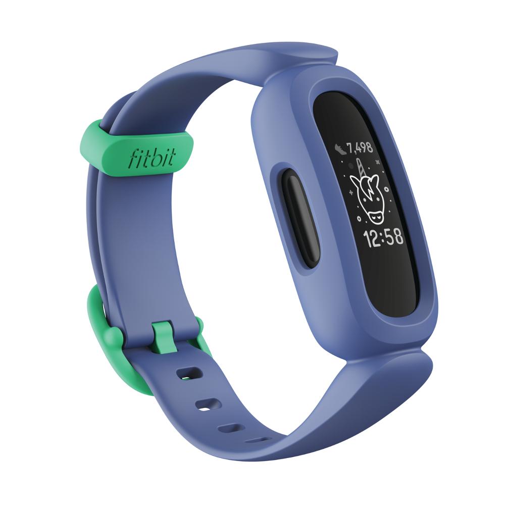 Detský fitness náramek Fitbit Ace 3 Cosmic Blue/Astro Green