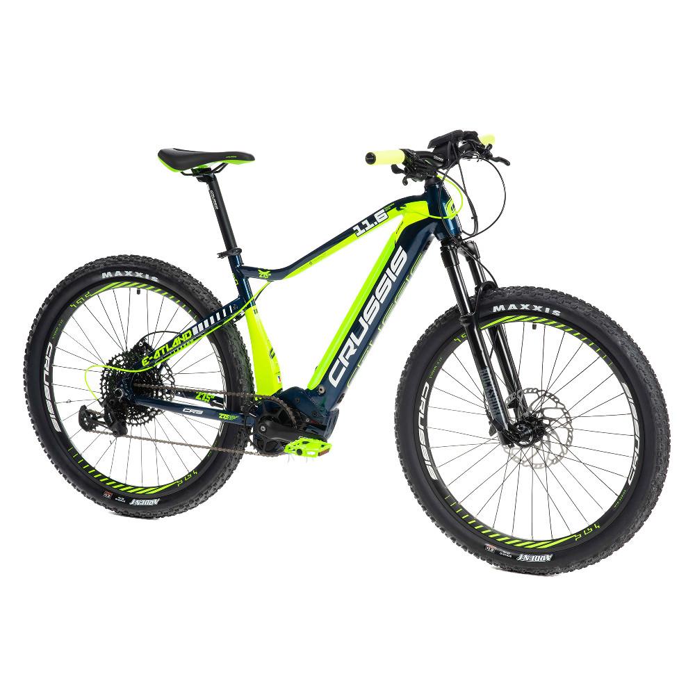 """Horský elektrobicykel Crussis e-Atland 11.6 - model 2021 18"""" - Záruka 10 rokov"""
