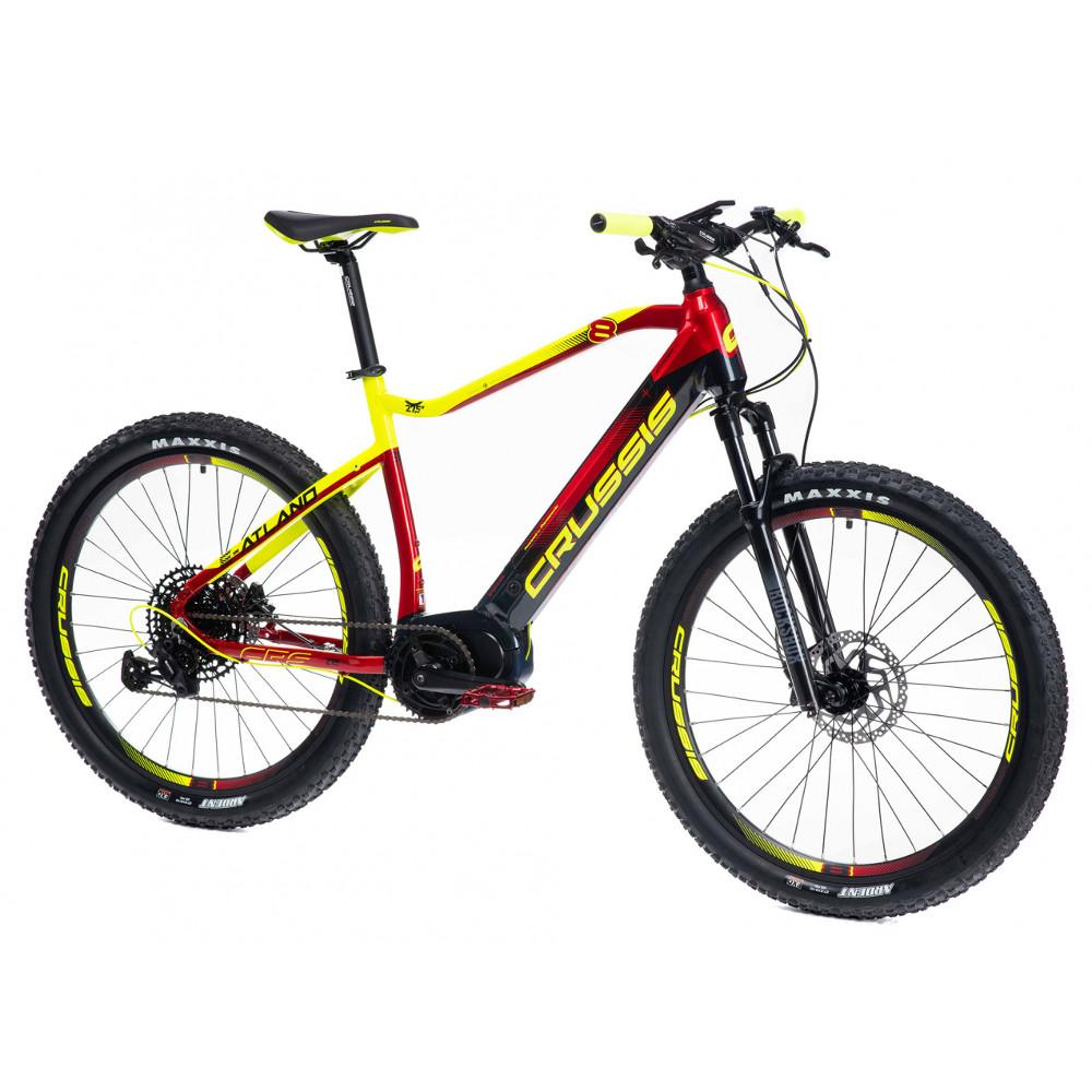"""Horský elektrobicykel Crussis e-Atland 8.6-L - model 2021 18"""" - Záruka 10 rokov"""