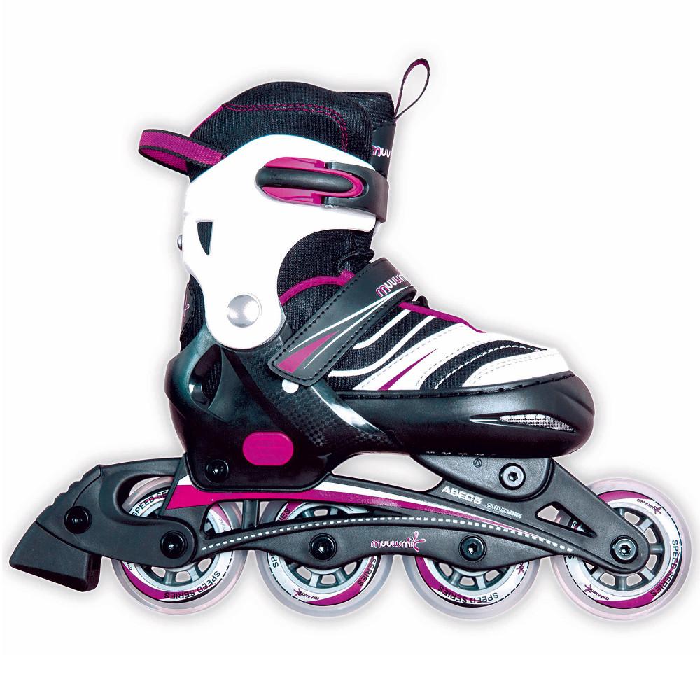 Nastaviteľné kolieskové korčule Authentic Muuwmi Girl 33-36