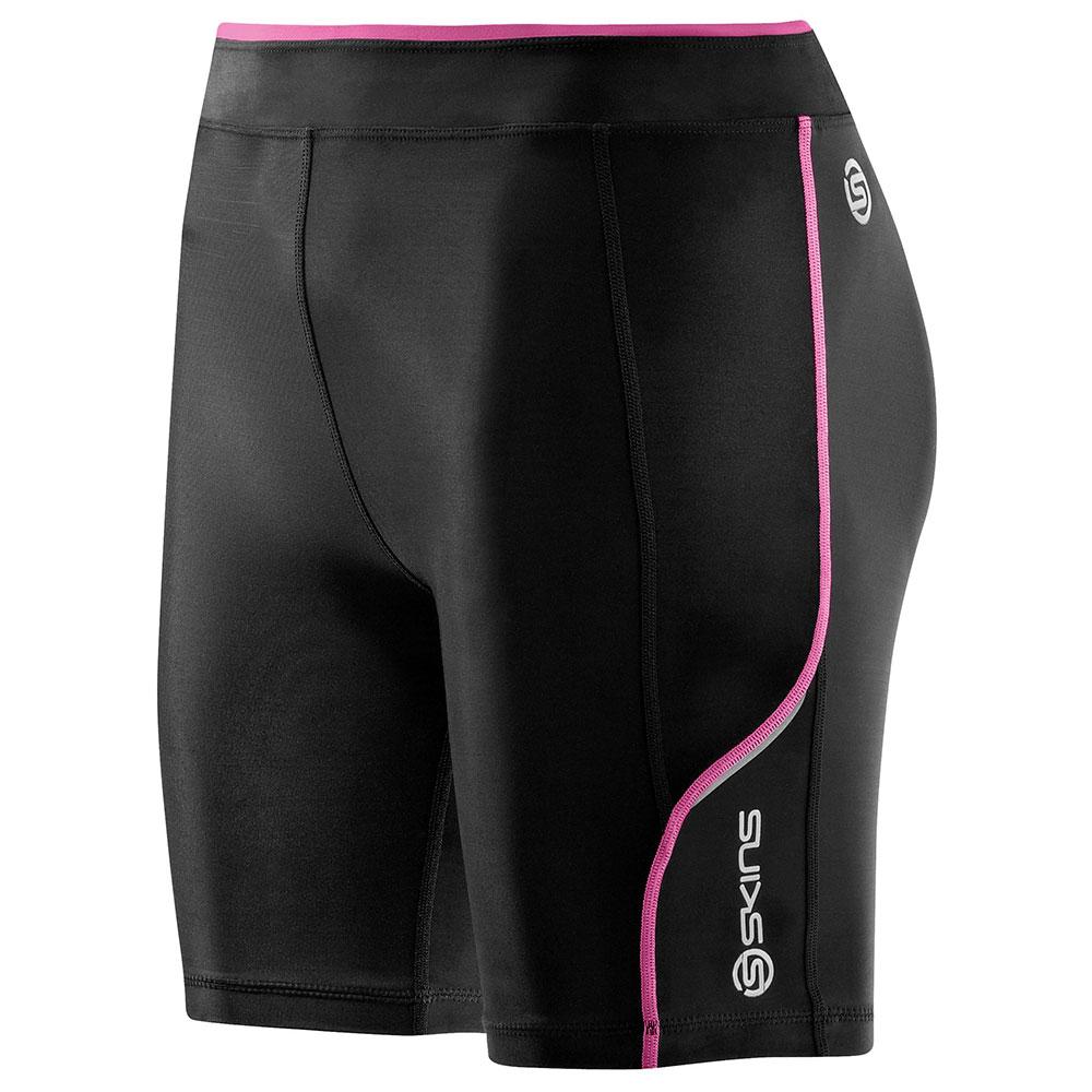 Dámske krátke kompresné nohavice Skins A200 ružová - M