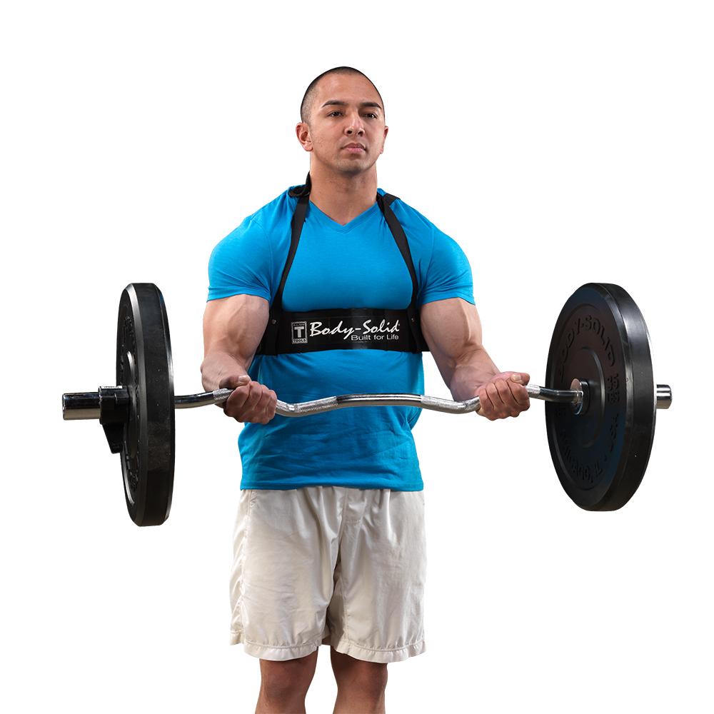 Závesný pás na posilňovanie bicepsov Body-Solid BB23 Biceps Bomber