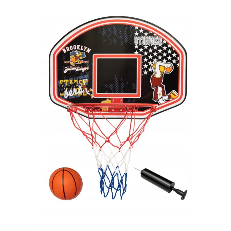 Basketbalový kôš Spartan Basket Board s loptou