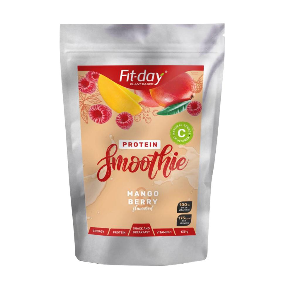 Proteínový nápoj Fit-day Protein Smoothie 135 g mango-berry
