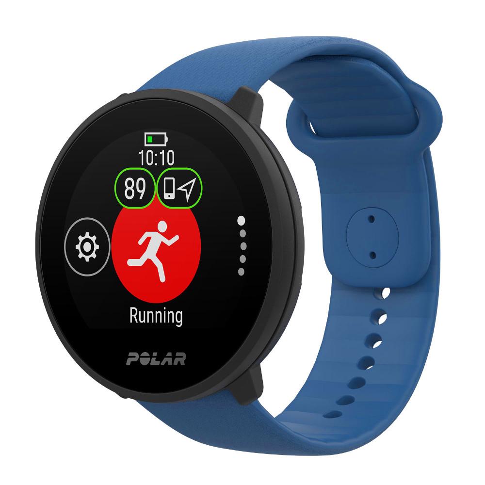 Športové hodinky Polar Unite modrá S-L