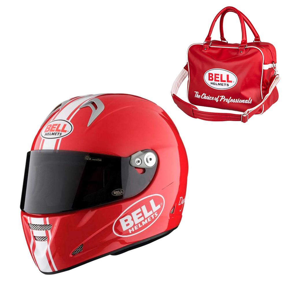Moto prilba BELL M5X Daytona Red White M (57-58) - Záruka 5 rokov
