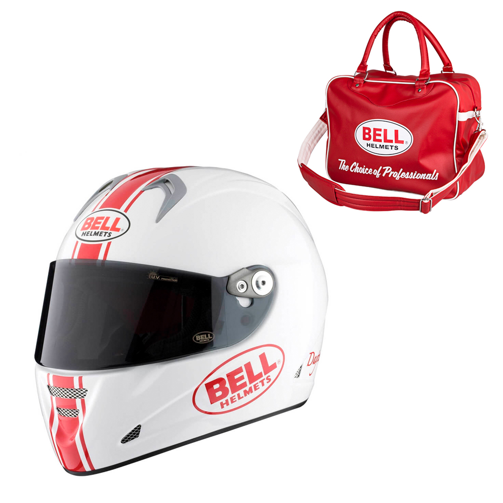 Moto prilba BELL M5X Daytona White Red S (55-56) - Záruka 5 rokov