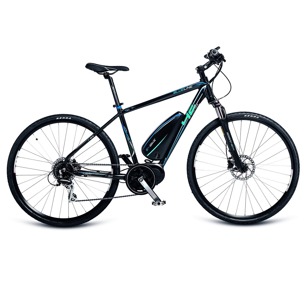 Crossový elektrobicykel 4EVER Blueline AC E-Cross - model 2017