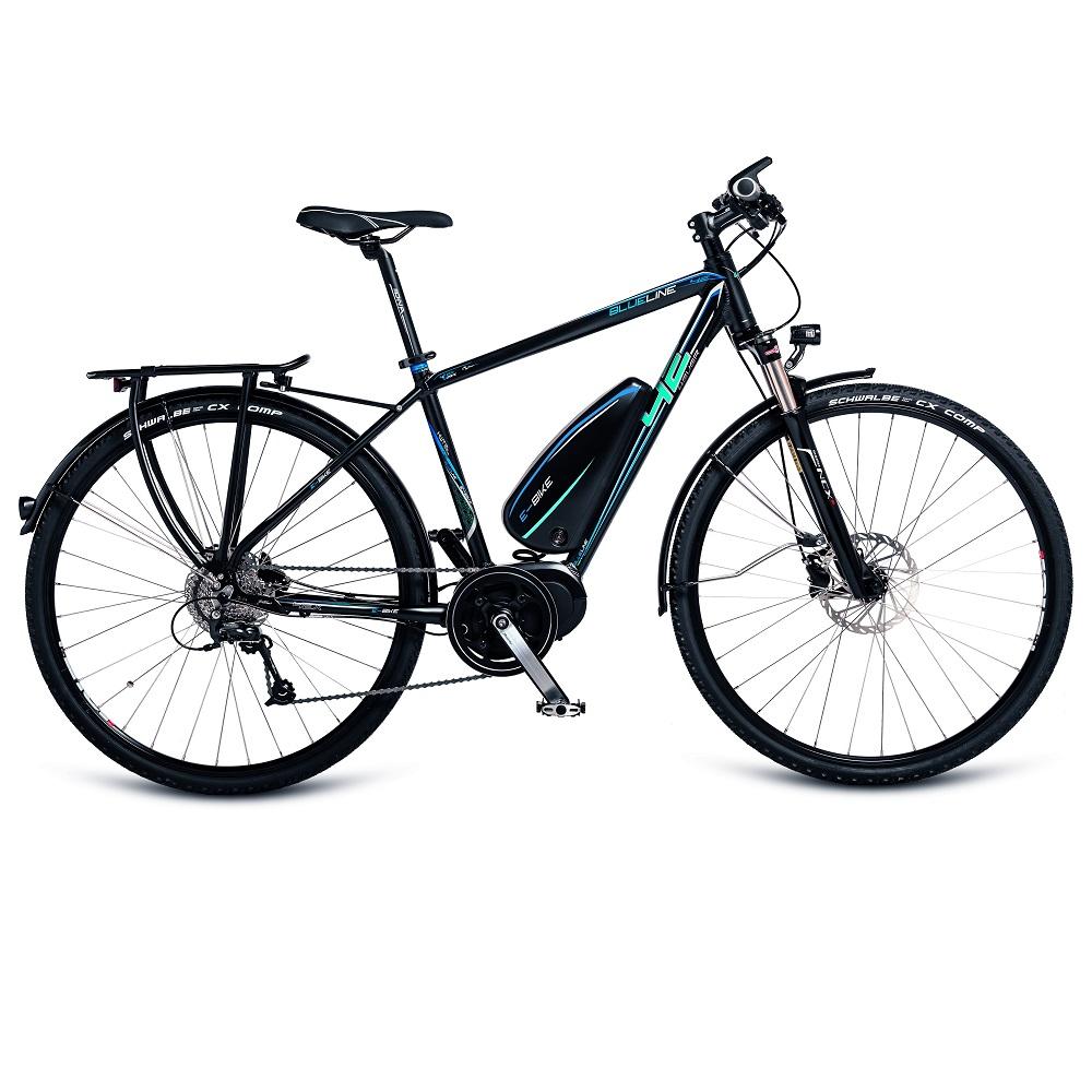 "Trekingový elektrobicykel 4EVER Blueline AL E-Trekk - model 2017 21"" - Záruka 10 rokov"
